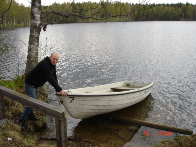 Angling on the Skälsjö lakes, Malingsbo-Kloten