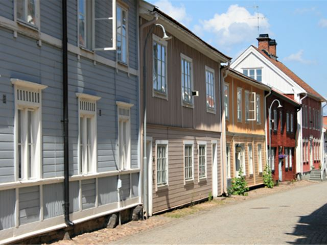 Eksjö-the unique wooden town