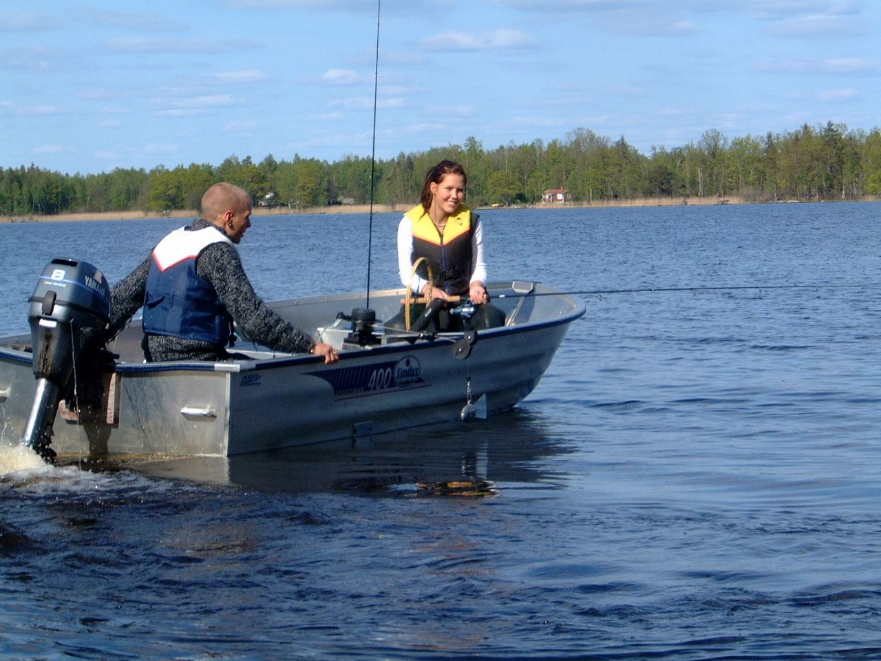 Torne Camping boat and canoe rental