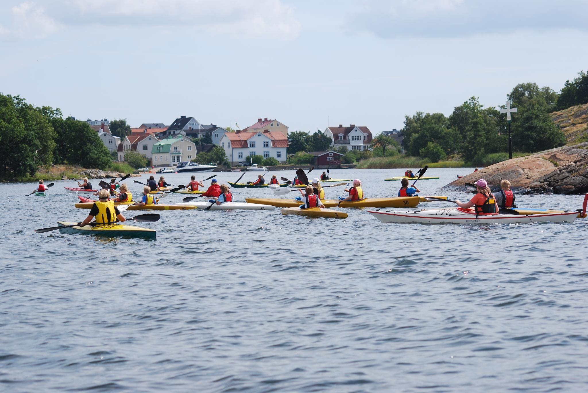Canoeing with Kayak Club Eskimå