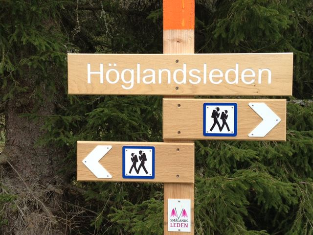 Höglandsleden-hiking trail