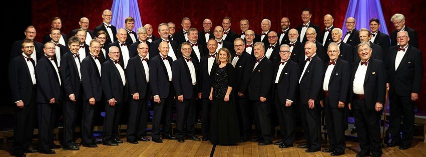 Christmas concert with the Sandgrenska male choir!