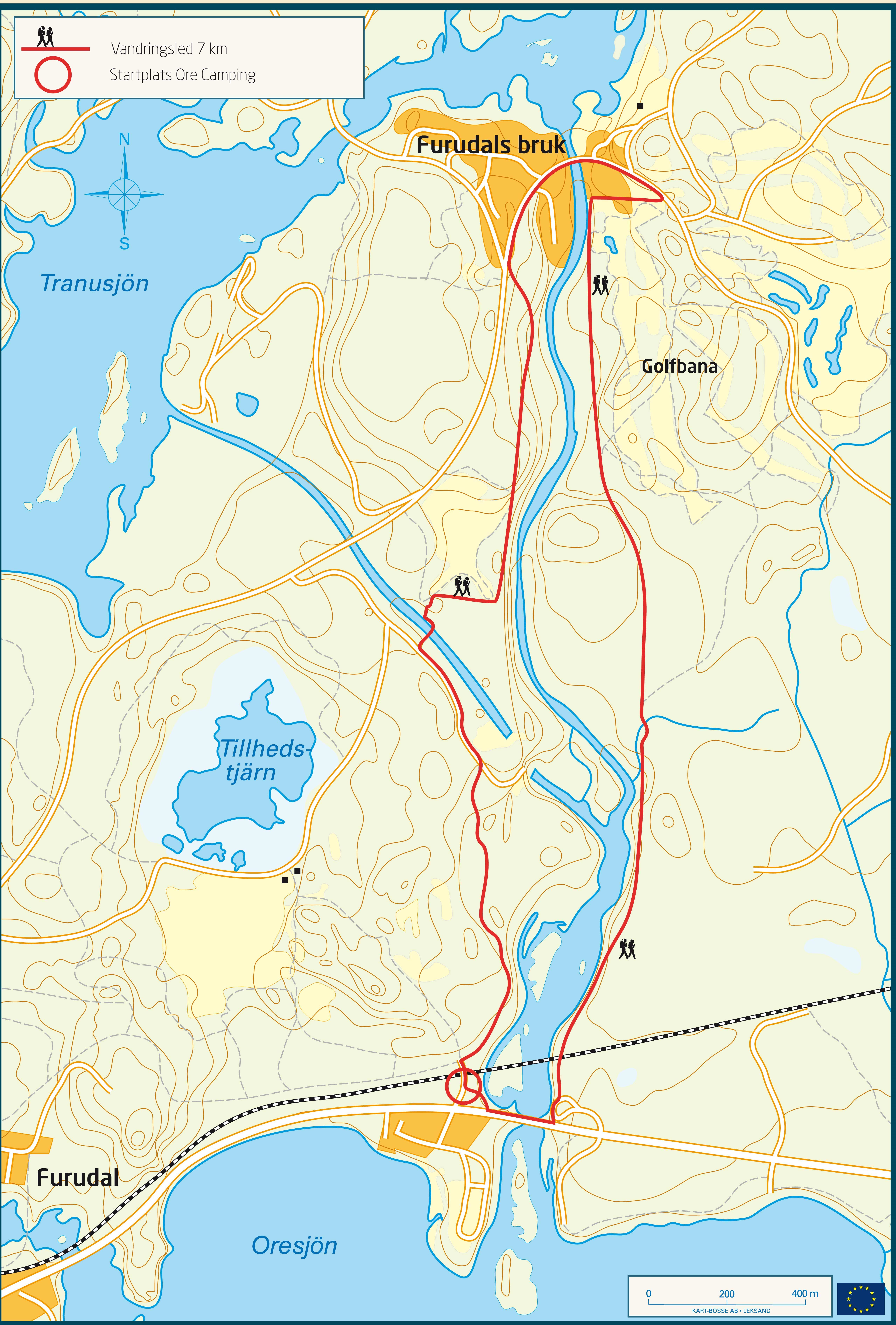 furudal dalarna karta Furudal   Vandringsled , Översikt, Vandring, Furudal furudal dalarna karta