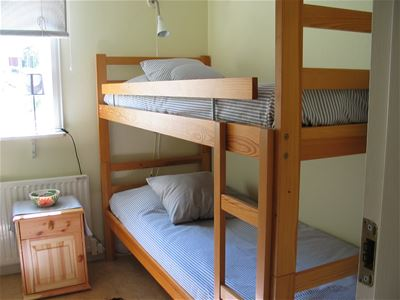 Guestroom with a bunkbed.
