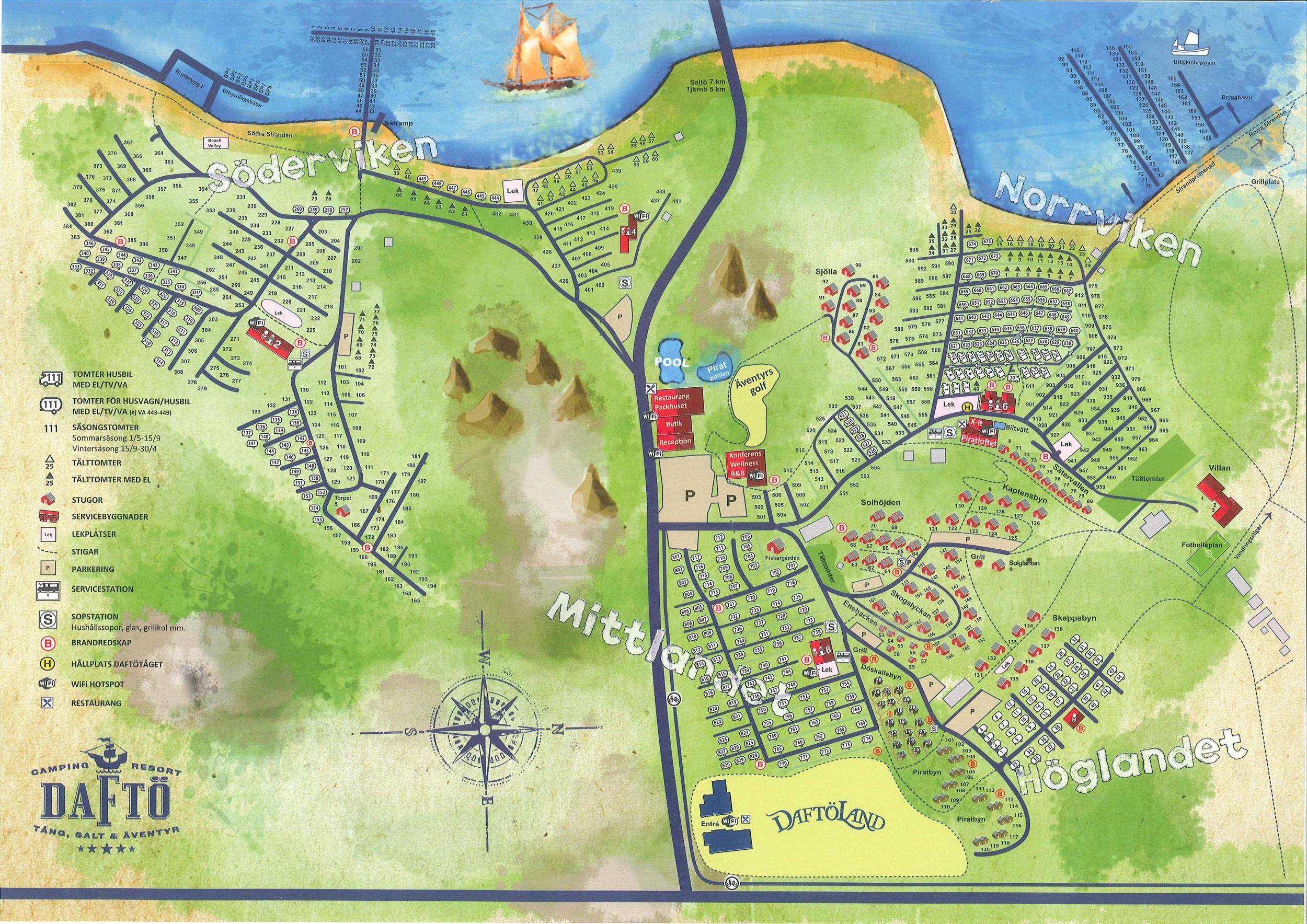 karta över campingplatser i sverige Daftö Camping Resort/Camping, Accommodation details, Campingtomt  karta över campingplatser i sverige