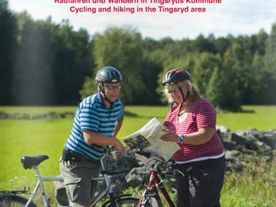 Hiking and biking in the municipality Tingsryd