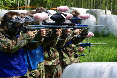 Paintball i Hulån