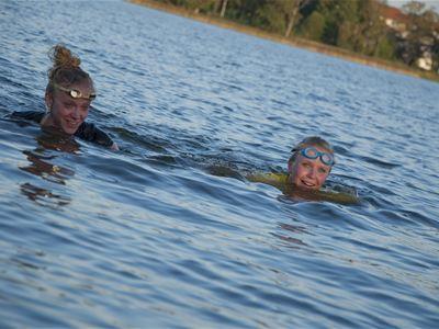 Simning på öppet vatten: Toftasjön