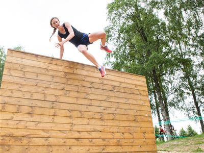 BootKampen obstacle course