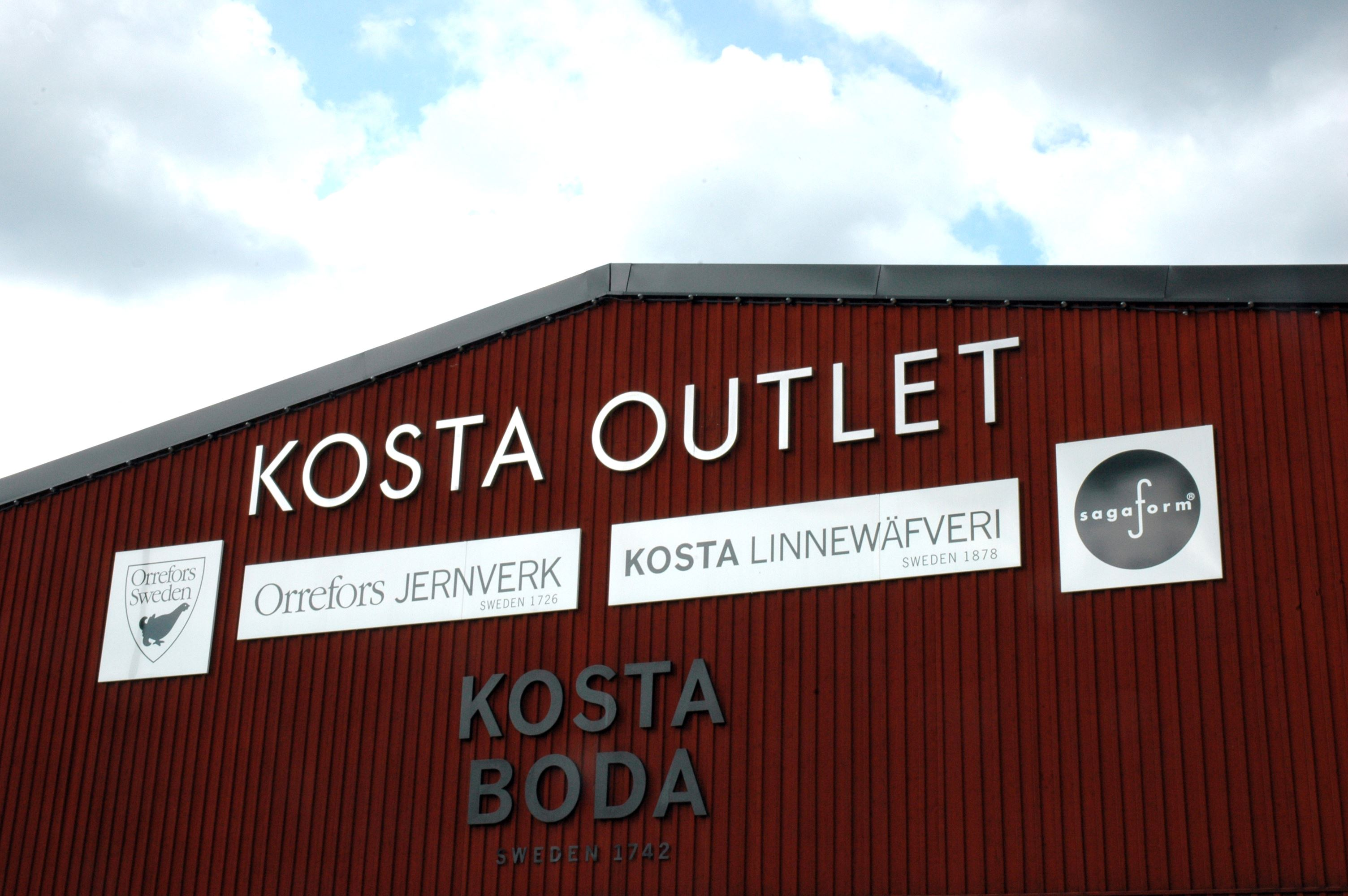 kosta outlet hotell