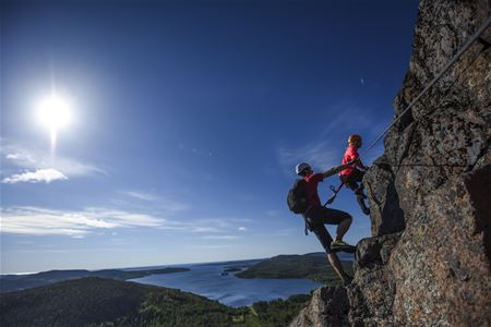 Via Ferrata - Climbing for everyone - Four routes of varying difficulty img