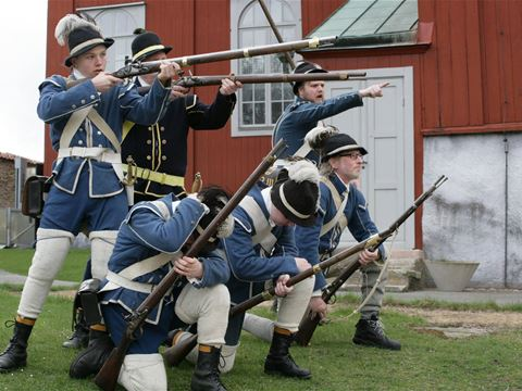 18th century Day at Drottningskär's Citadel