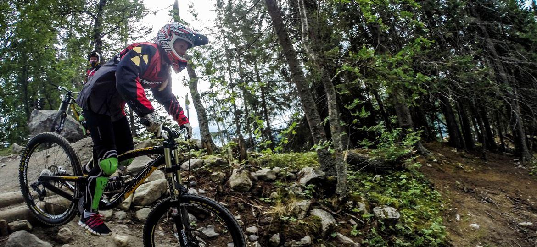 hyra downhill cykel åre