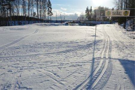 Cross-country ski area.