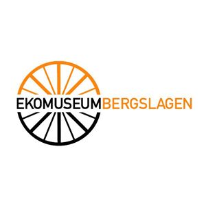 The logo of Ekomuseum Bergslagen.