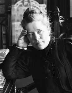 A picture of Selma Lagerlöf.