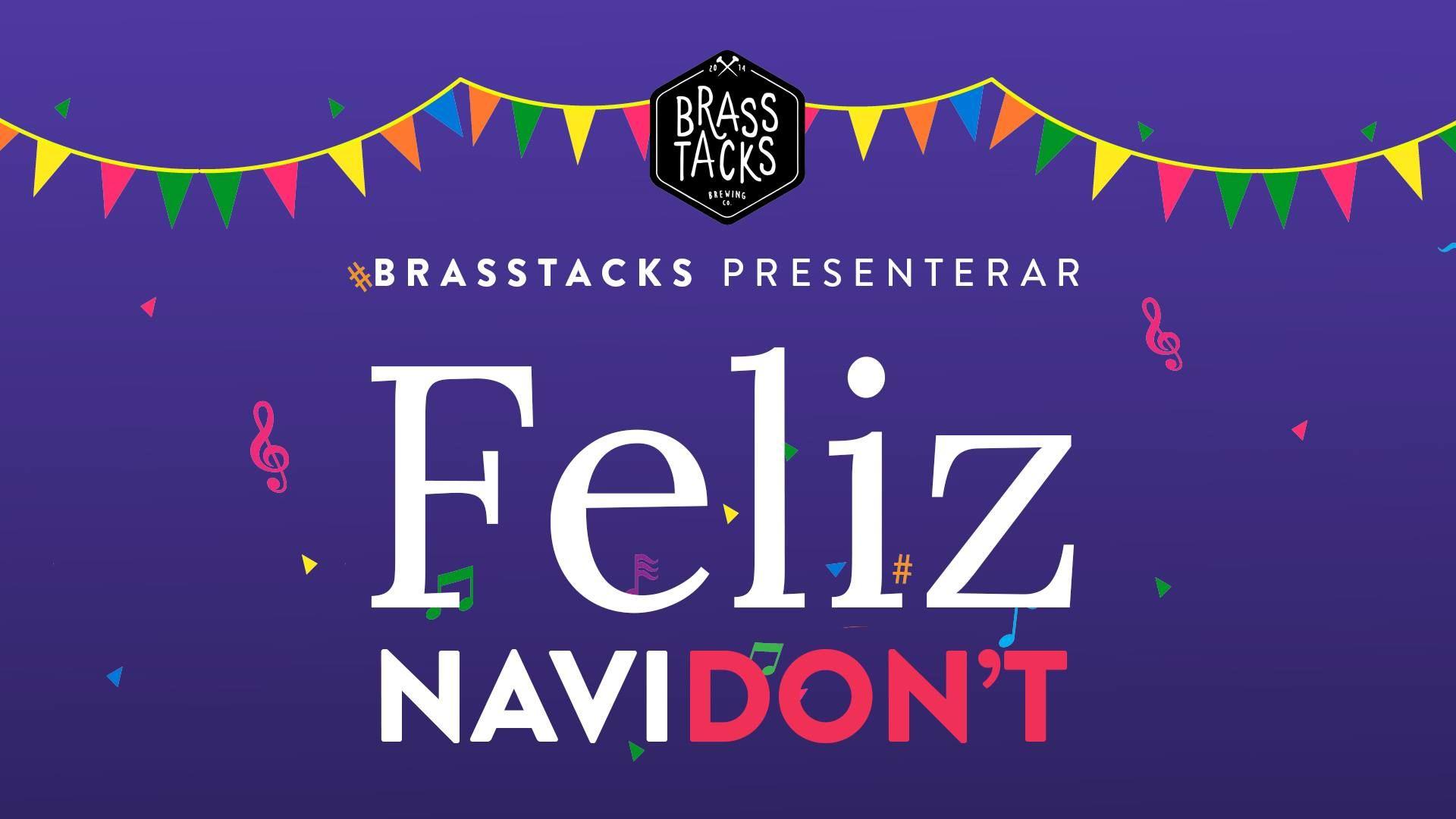 Feliz Navidon't - Ölprovning med Brasstacks Brewing