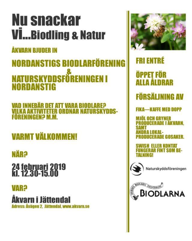 Nu snackar vi biodling och lokal natur - Åkvarn