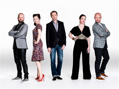 Musik: The real group - julkonsert