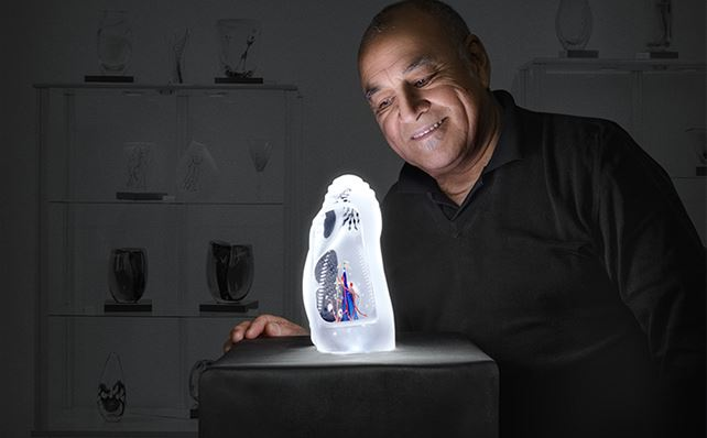 Glasriket Glöder - Carlos Art Glass