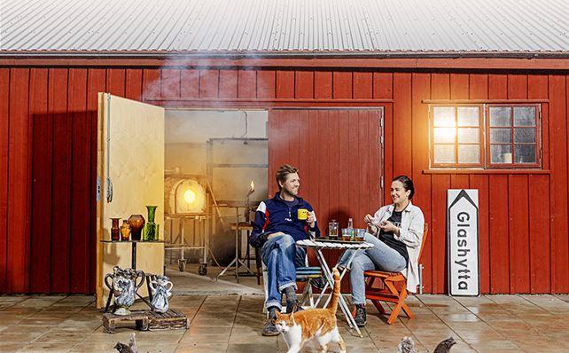 Glasriket Glöder - Persson och Persson