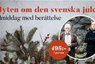 Berättarkväll och julmiddag - Myten om den svenska julen
