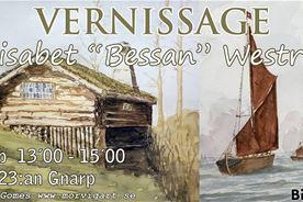 Vernissage & utställning - Bessan Westrin