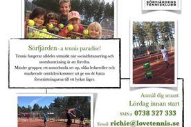 Tennisskola för barn och vuxna
